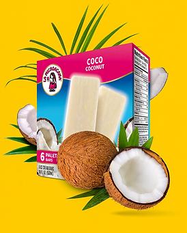 La Michoacana Coconut Ice Cream Bars Coco Paletas