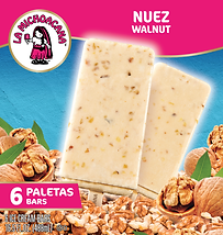 La Michoacana Nuez Paleta Walnut Ice Cream Bars