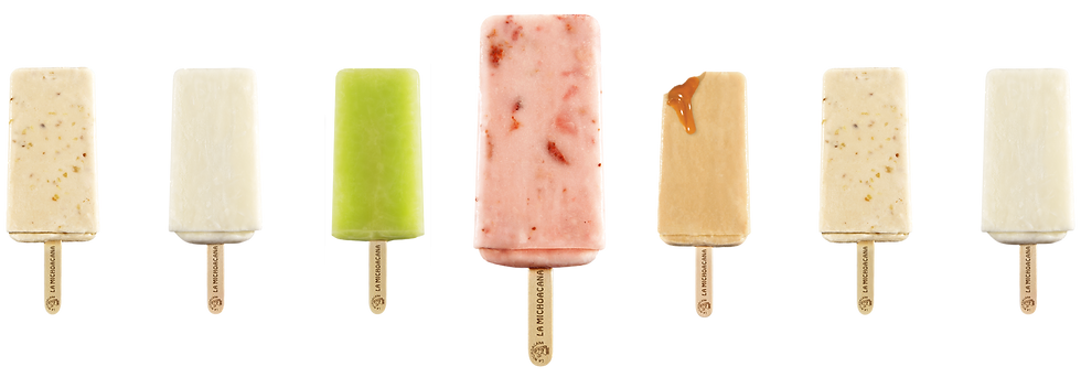 La Michoacana Frozen Fruit Bars Paletas Ice Cream Bars