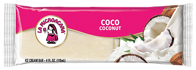 La Michoacana Coco Paleta Coconut Ice Cream Bar