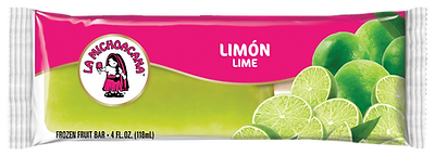 La Michoacana Limon Paleta Lime Frozen Fruit Bar