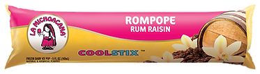 La Michoacana Rompope Bolis Rum Raisin CoolStix