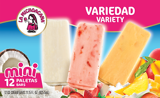 La Michoacana Mini Variety Paletas Ice Cream Bars