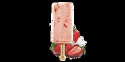 La Michoacana Fresa con Crema Paleta Strawberry Cream Ice Cream Bar