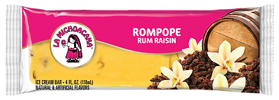 00004 - La Michoacana Rompope Paleta Rum