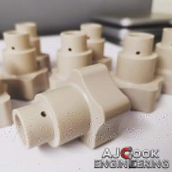 Engineering Plastic PEEK CNC Manufacturing
