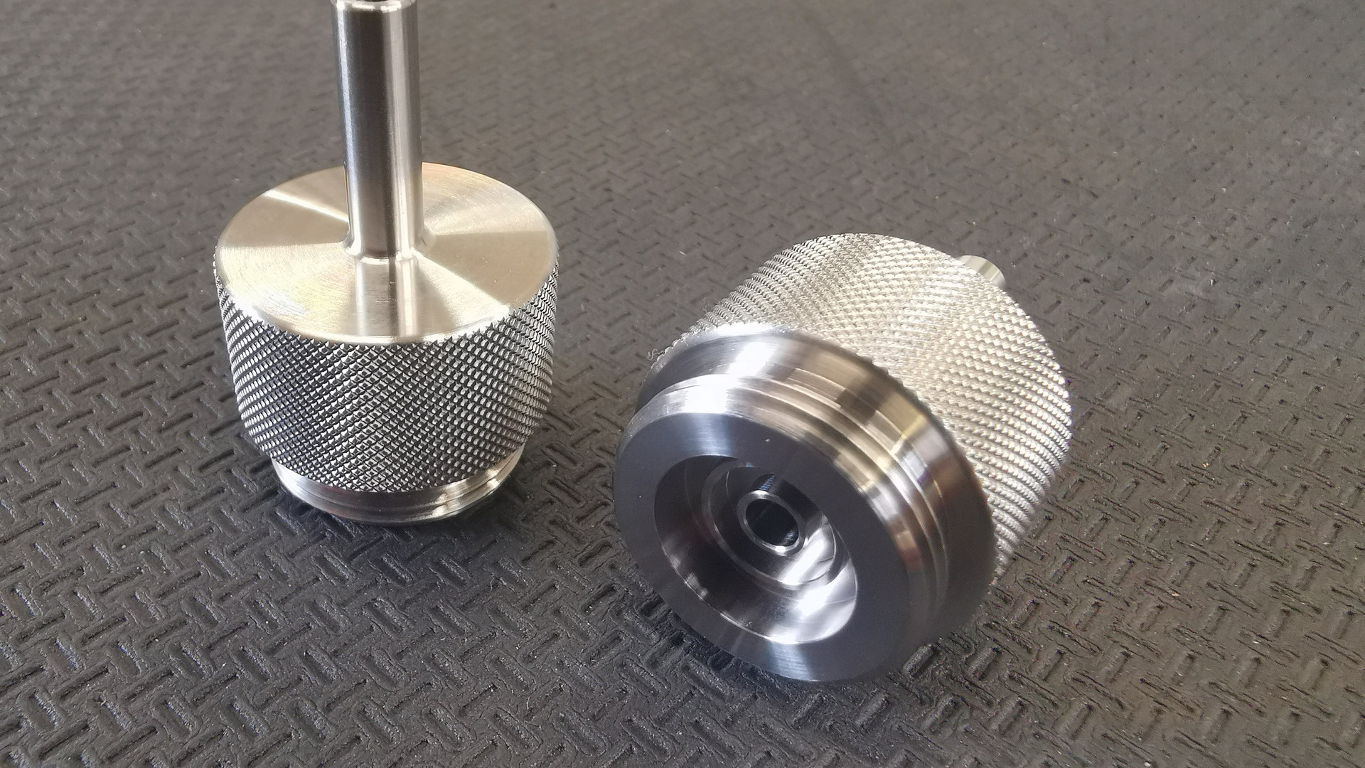 Stainless Knurled Components
