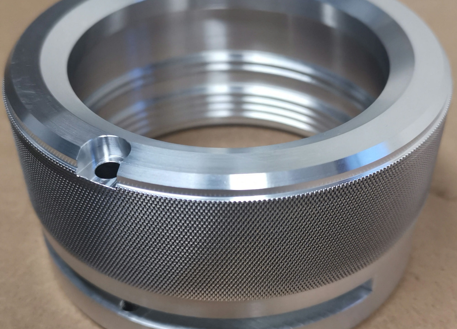 A J Cook Engineering Limited. Precision knurling services.