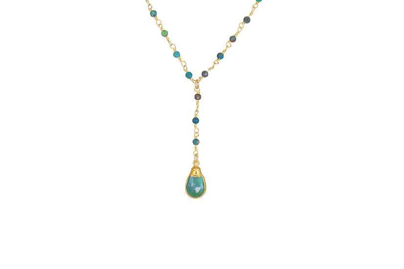 Turquoise and Chrysoprase