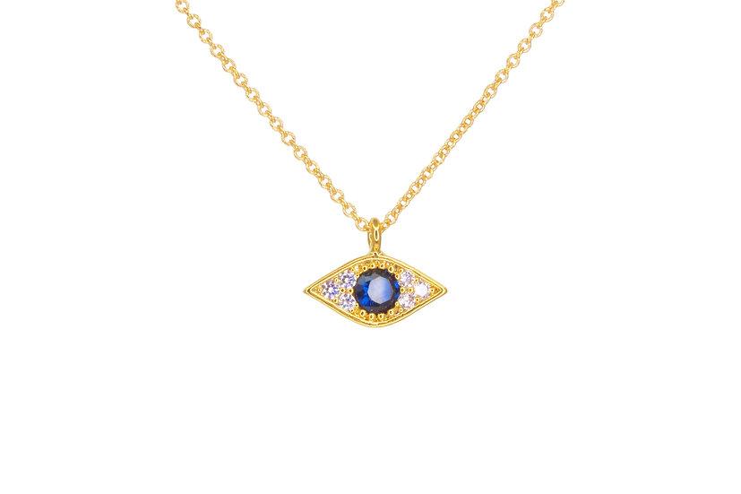 Sapphire Evil Eye
