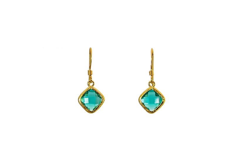 Tiny Color Therapy Gold | Crystal Turquoise