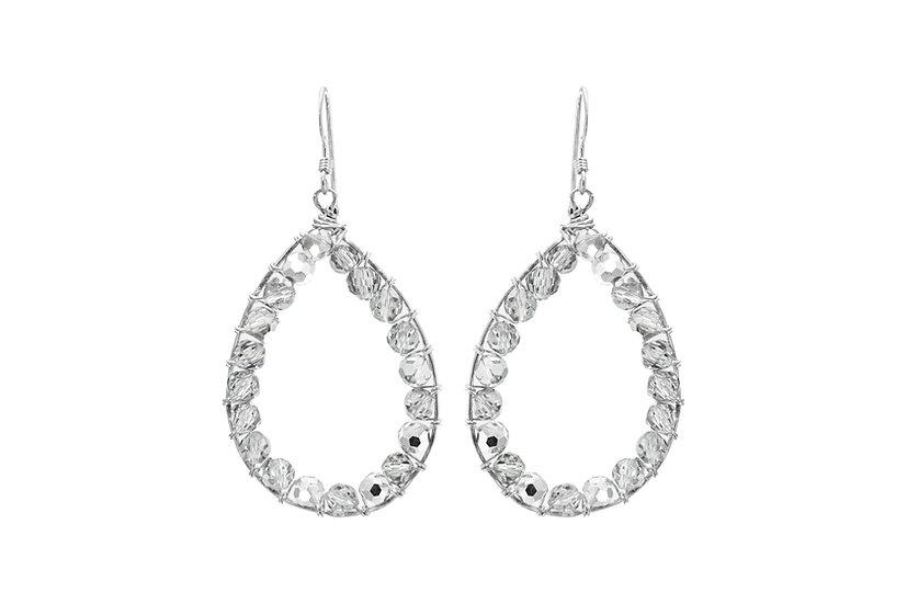 Crystal Teardrop Earrings