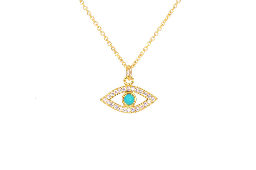 Turquoise Evil Eye