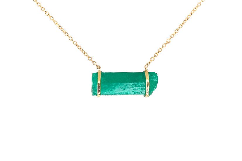 Emerald + 14k Gold