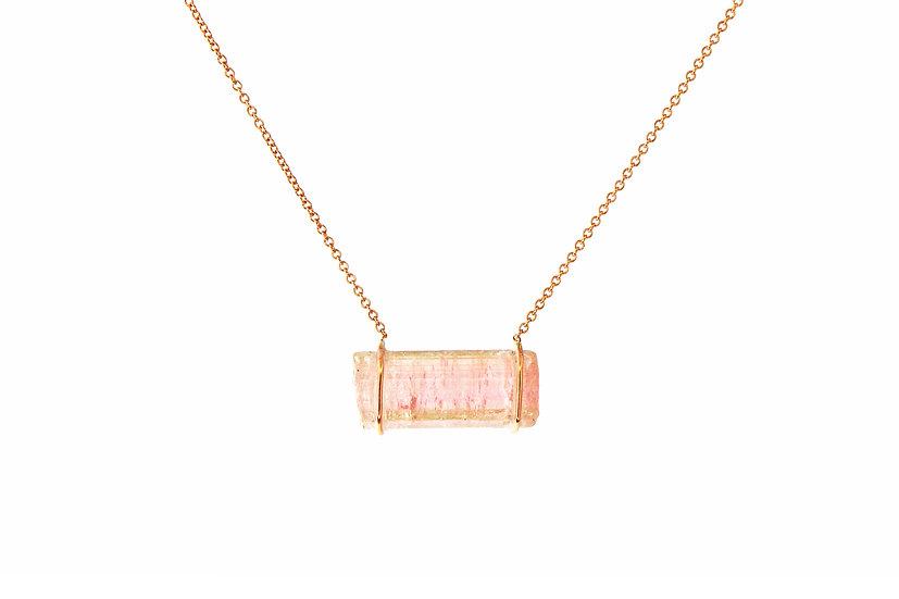 Pink Tourmaline + Rose Gold