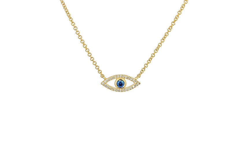 Sapphire + Yellow Gold