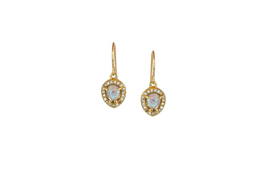 Labradorite and Diamond