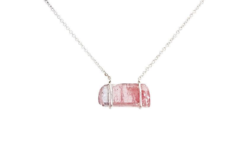 Pink Tourmaline Sterling Silver