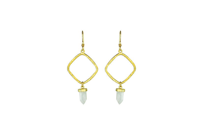 Gold Diamond + Quartz