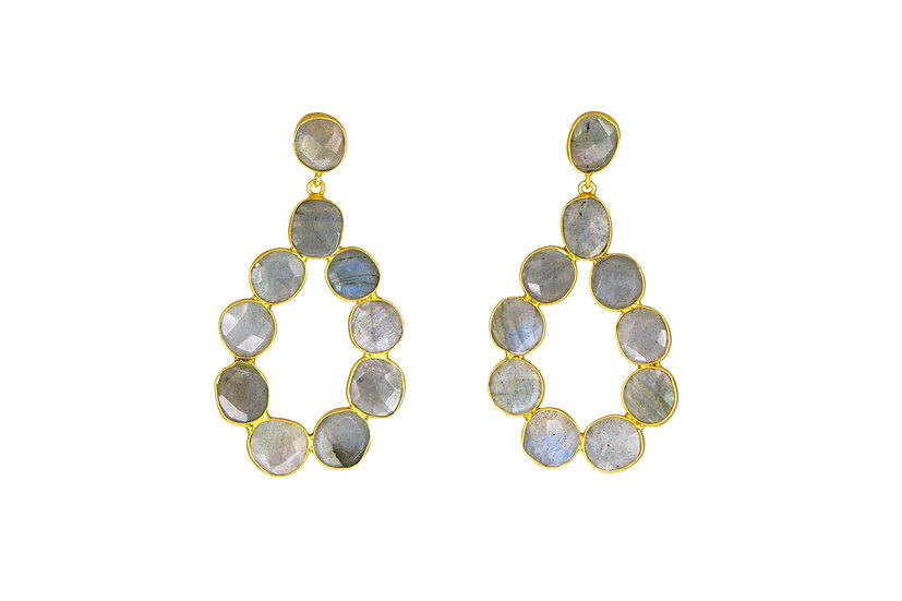 Labradorite Stone Drops