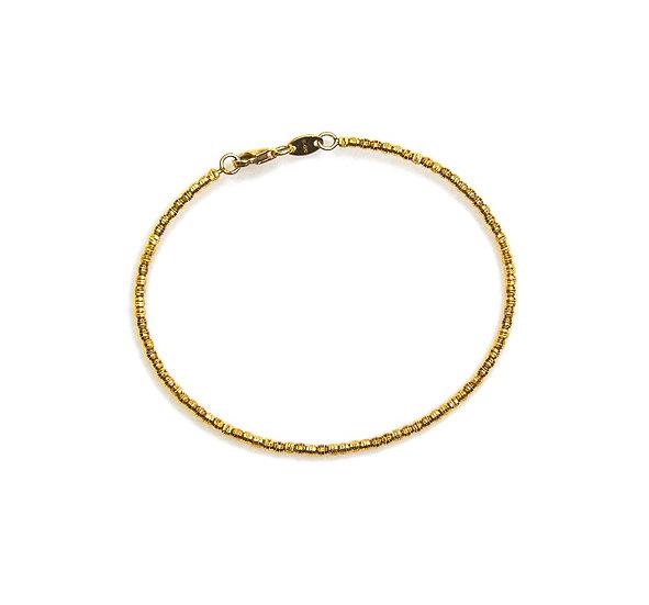 14k Mooncut Gold Bracelets