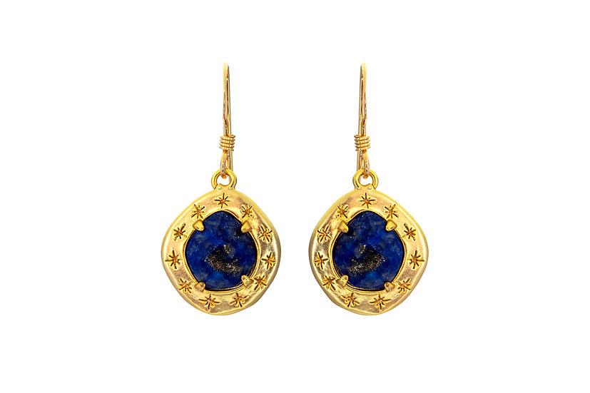 Starry Lapis Earrings