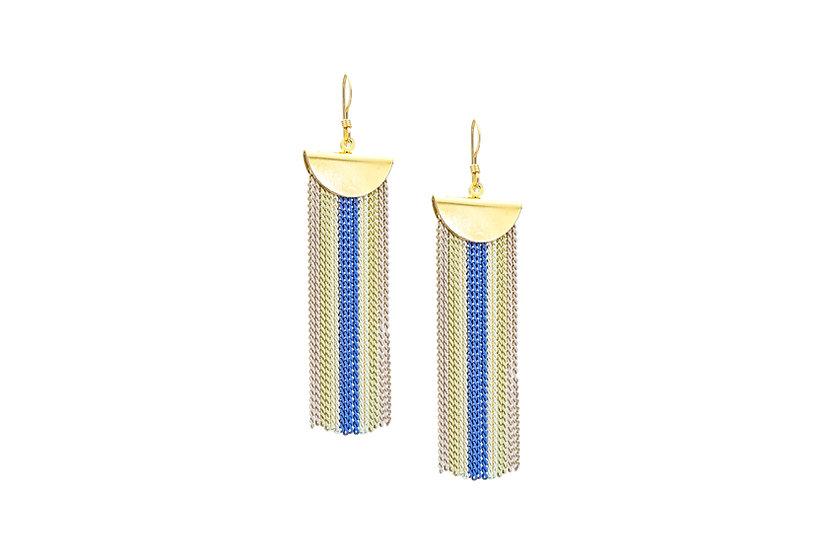 Luminous Chain Earrings