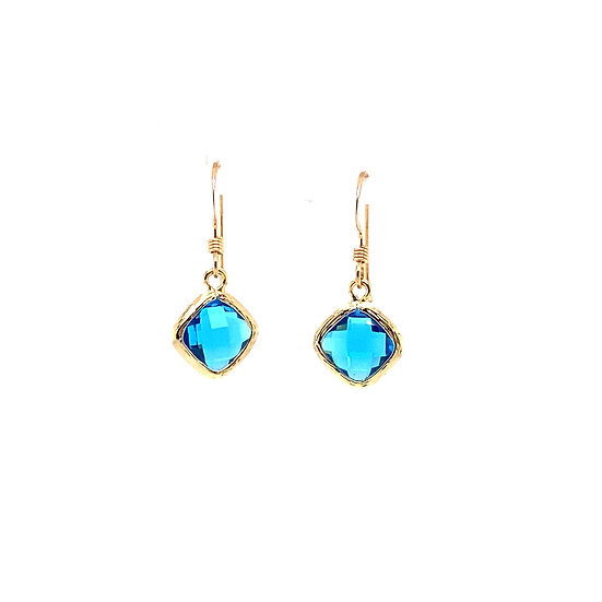 Tiny Color Therapy Gold | Bright Blue