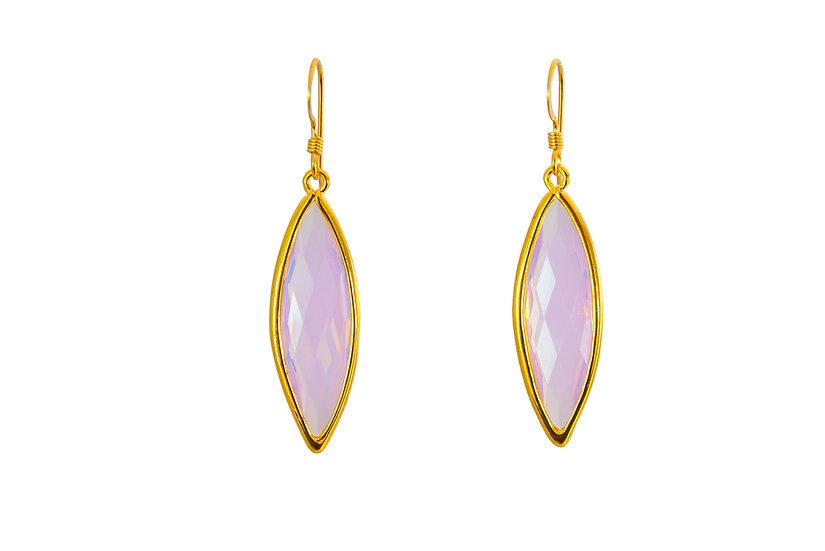 Long Color Therapy Gold   Opalite
