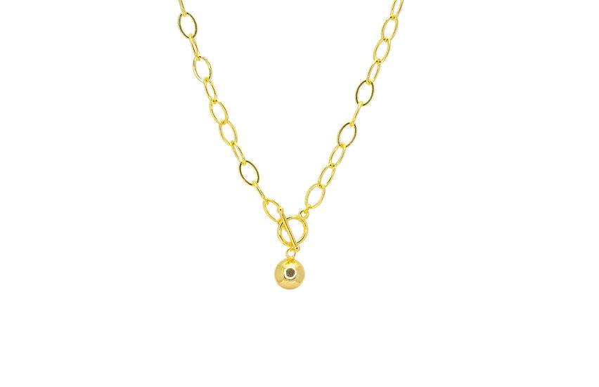 Harmony Bell Locket Necklace