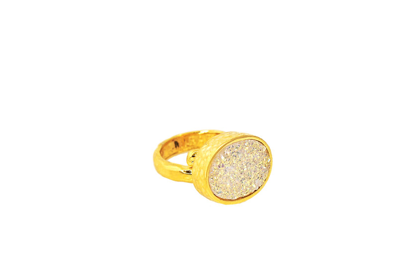 Druzy - Expect A Miracle Ring