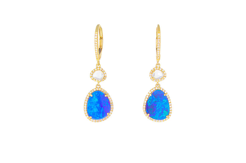 Diamond, Diamond Slice + Opal