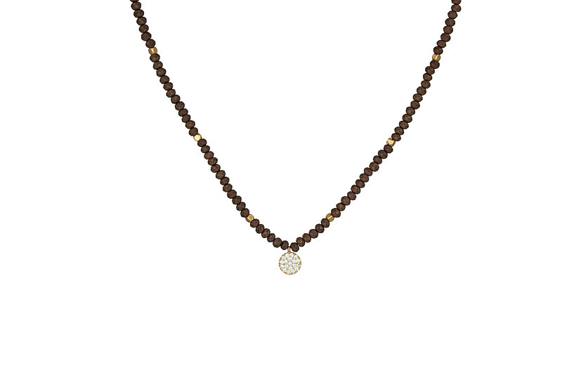 CZ Gemstone Choker Necklace