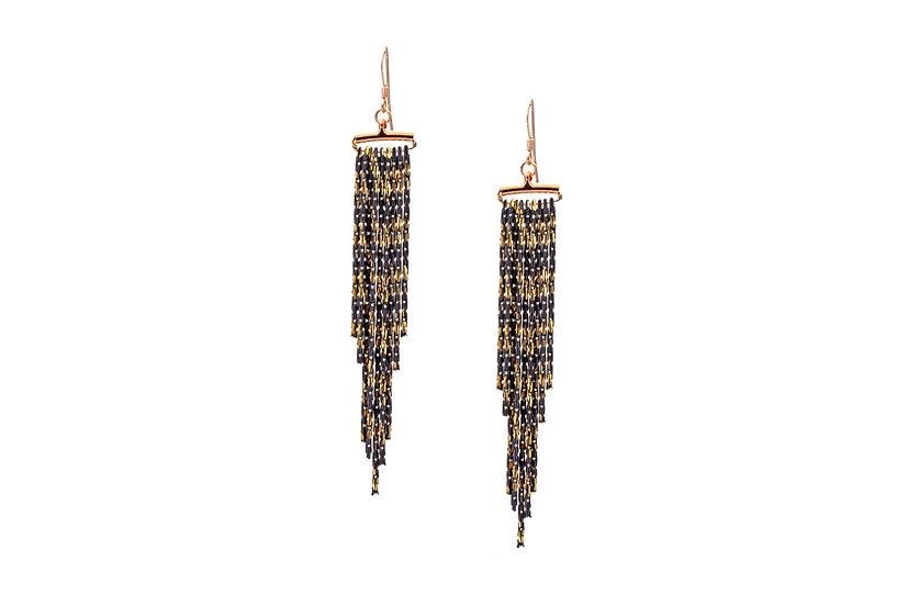Chain Cascade Earrings