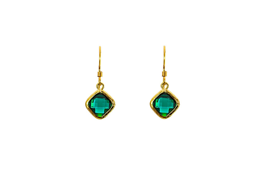 Tiny Color Therapy Gold | Emerald Green