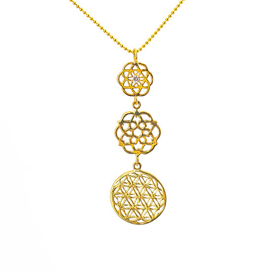 Gold Flower Of Life