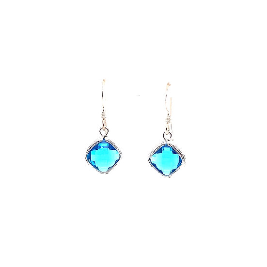 Tiny Color Therapy Silver | Bright Blue