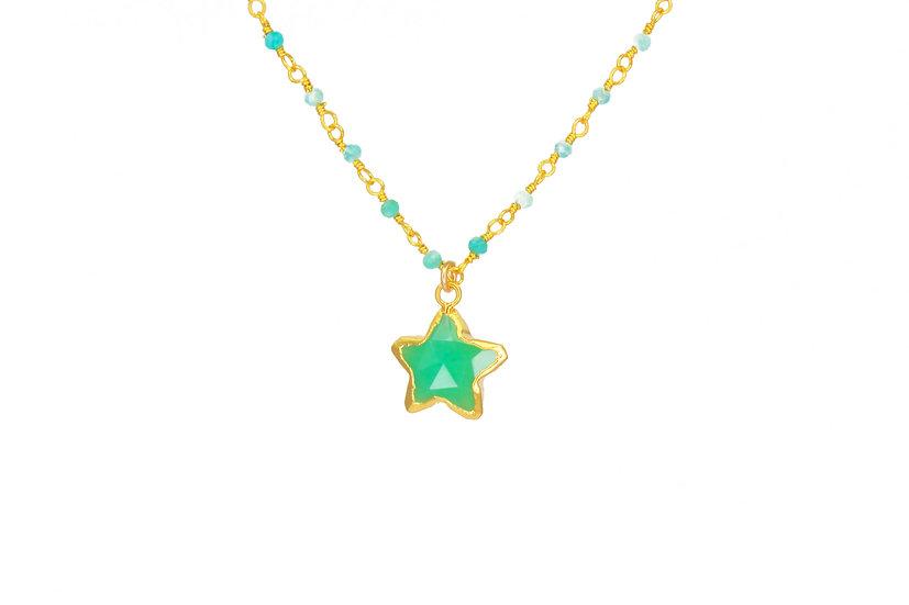 Chrysoprase Star