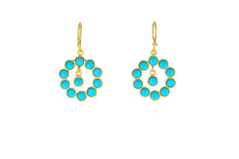 Turquoise Chaser Earrings