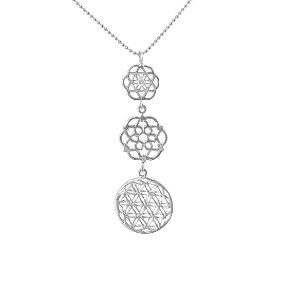 Flower of Life and Diamond