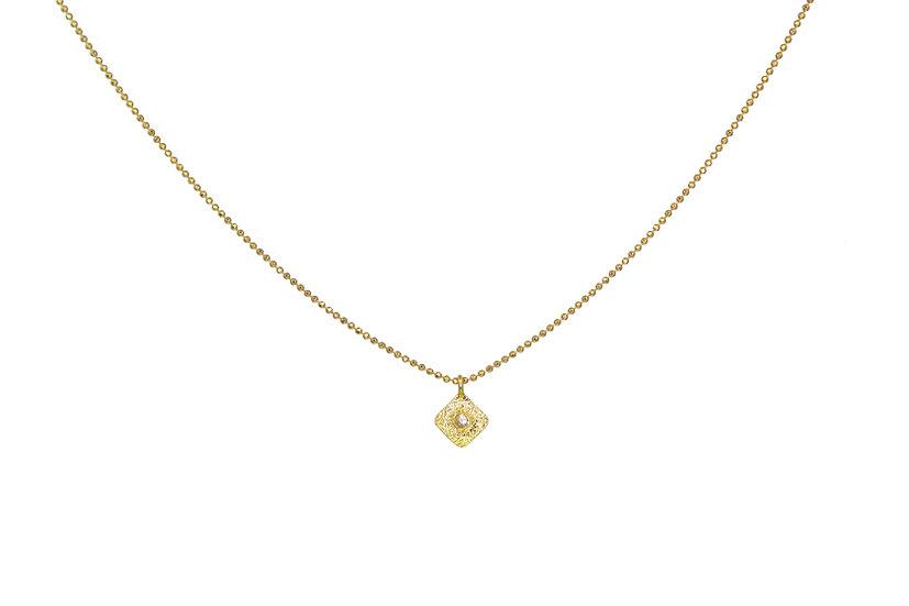 Diamond + 18k Gold