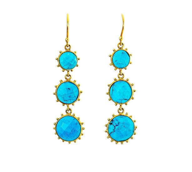 Turquoise 3 Tier Sun