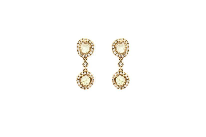 18k Rose Gold + Diamond