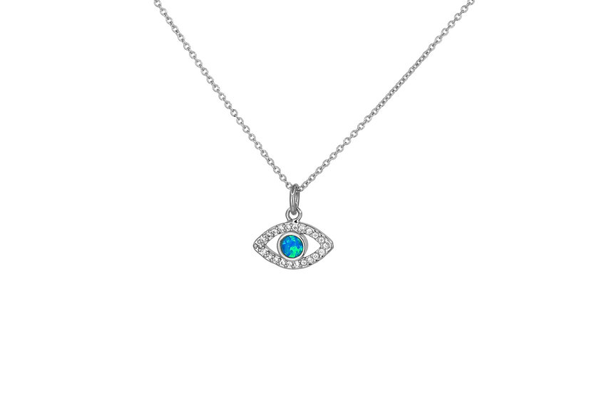Opal and CZ Evil Eye
