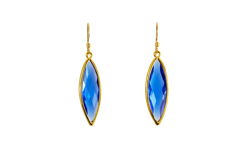 Long Color Therapy Gold | Cobalt Blue