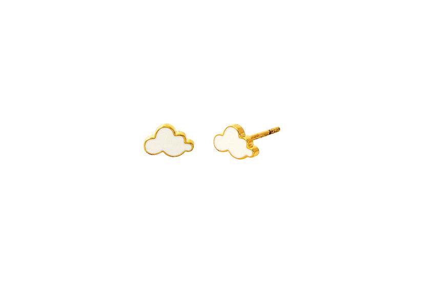 Cloud Stud Earrings