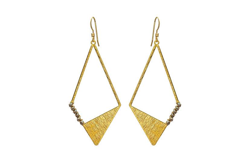 Geometric Brass +CZ