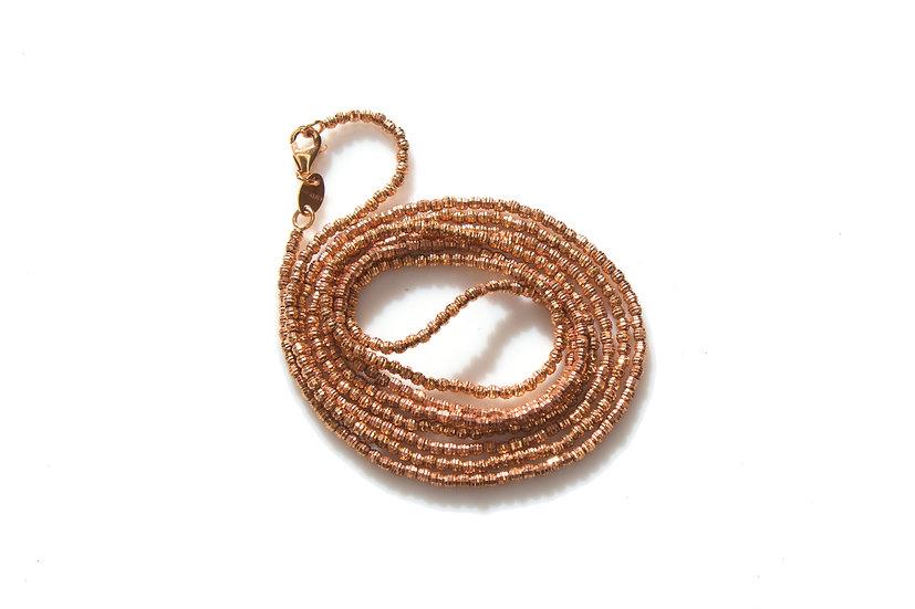 14k Mooncut Gold Necklace