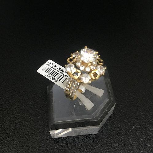 Nhẫn vàng nữ đá trắng VJC 610