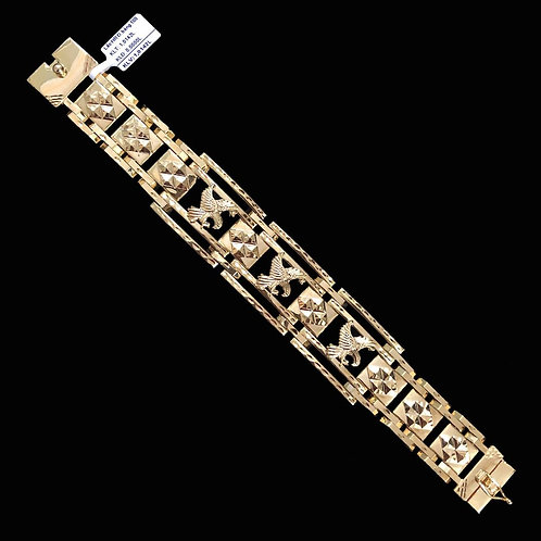 Lắc tay Nam Đại bàng vàng VJC 610